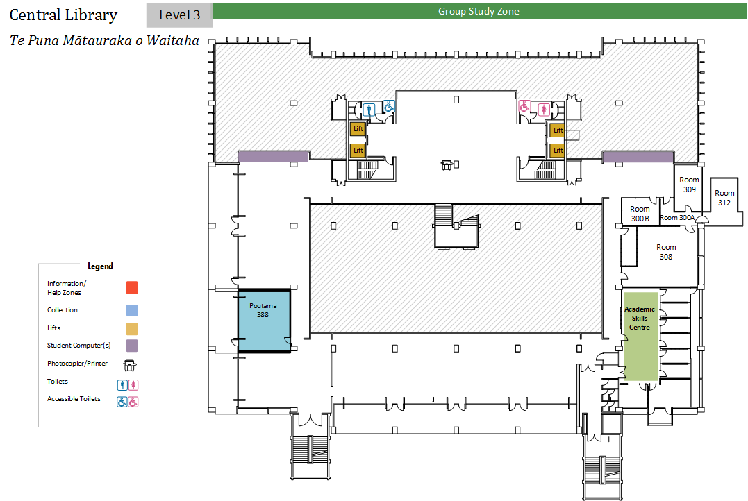 Floorplans Central Library Library University Of
